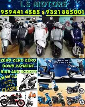 Brand New Scooty Suzuki Access 125 For Sale zero DP (Mumbai Location)