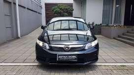 KM 74.000 Honda Civic 1.8 AT Matic 2013 Hitam Metalik ASTINA MOBIL
