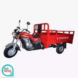 Loader rickshaw available for daily and monthly rent with driver