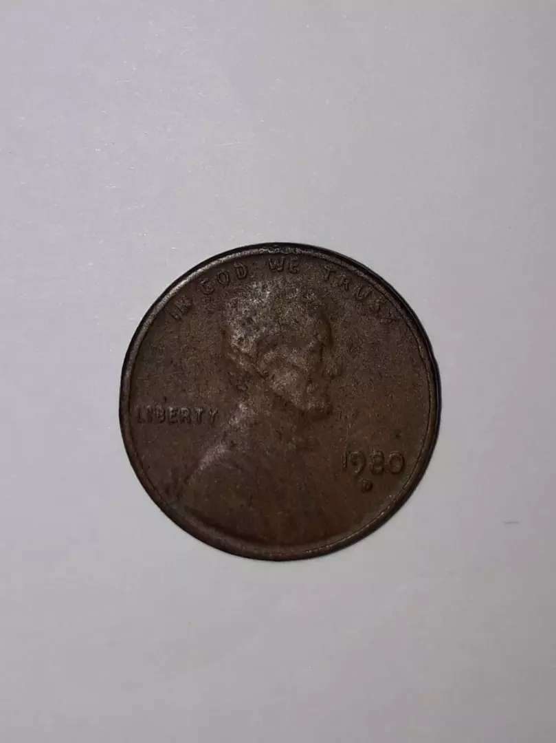Coin of United state of America(USA), Name :-(1980-D Lincoln Memorial) 0
