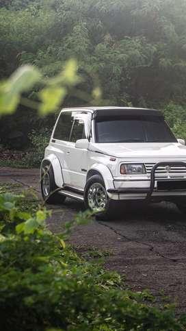 Rare ! Suzuki Vitara SWB 4x4 th 96 Special Condition Only One in Indo