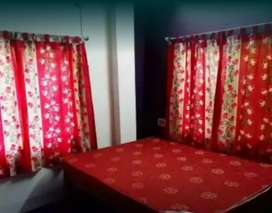 2RK semifurnished flat available for rent in Tollygunge