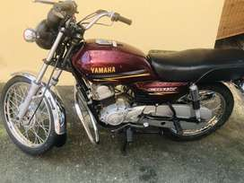 Yamaha crux 75 average in best condition