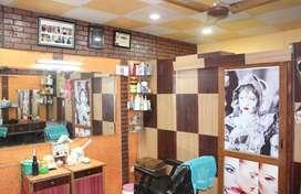Urgent sale good running beauty parlour in Sector 49 Noida