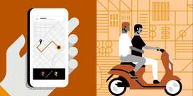 uber moto bike taxi free joining bonus for rs .1000