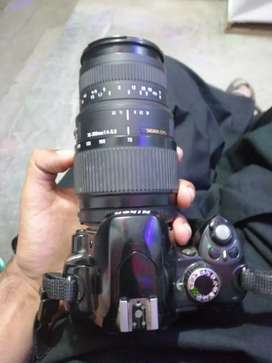 "Nikon d60 with 18""55/70""300"" lense and betry charger"