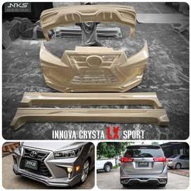 New Fortuner and Innova crysta lexus style bodykit