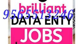 Available weekly payment home based part time typing data entry job