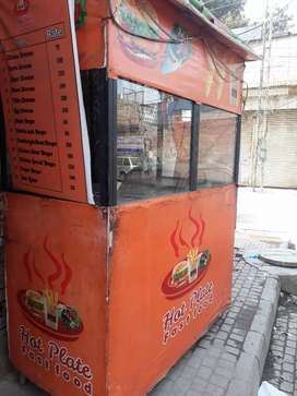 Counter for Burger Shawarma