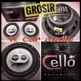Wow Speaker CELLO DENMARK 3way 6inc mantep mumer grosir disini boskuuh