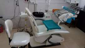 fully electronic dental satup CRB with in two chair