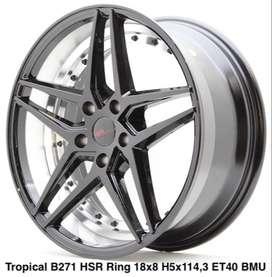 pelek HSR ring 18 Hole 5x114,3 Model TROVICAL