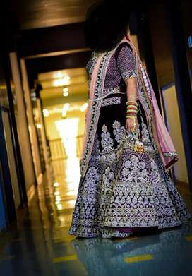 Bridal lahenga latest designer