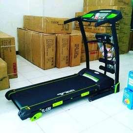 Treadmill Elektrik Murah Type TL-130 Alat Fitness Bagus Merk Total