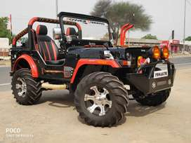 Modified Open Jeeps Willy's Jeeps Hunter jeeps AC gypsy Thar