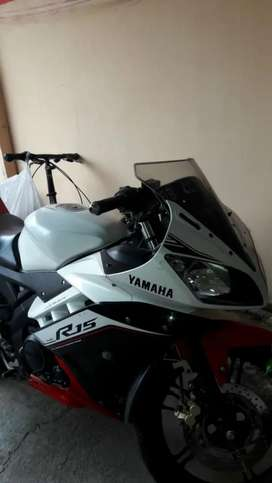 Yamaha R 15 thn 2017 pemakain 2018
