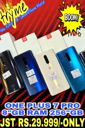TRYME 256GB-8GB RAM ONE+ 7 PRO Full Kit Box Fresh Condition