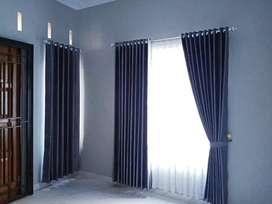 Hordeng gordyn gorden desain kemewahan ruang dan kamar