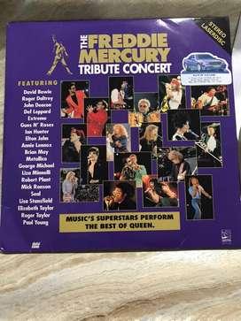 Laserdisc The Freddie Mercury