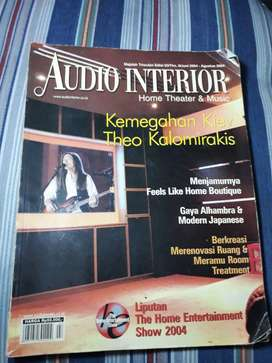 Majalah audio interior home theater and music 2004