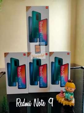Redmi Note 9 hijau 4/64 Garansi Resmi