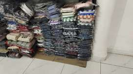 Men's shirts and trousers available for wholesale