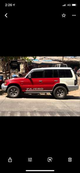 Sell pajero vip no good candisan ,sunroof