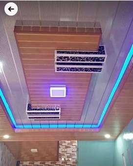 Plavon pvc dan rangka atap baja ringan