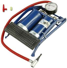 Car/Bike Double Cylinder Foot Pump To preserve blood sugar strong and