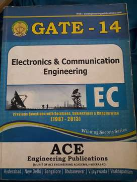 GATE ECE ACE ENGINEERING PUBLICATIONS Previous questions &solutions