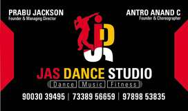 Receptionists needed for Dance Studio, part time , 3pm to 9pm.