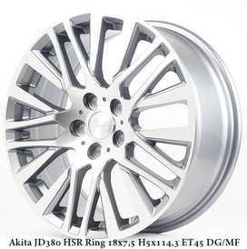 jual pelek HSR WHEEL model Akita JD380 HSR Ring18x75 pcd5x1143