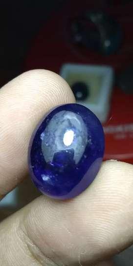 Natural royal blue sapphire natural royal blue safir besar 22.70ct