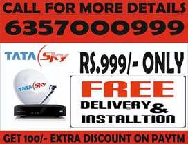 Tata sky airtel dish tv super offre