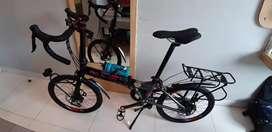 Jual sepeda lipat Pro Action upgrade