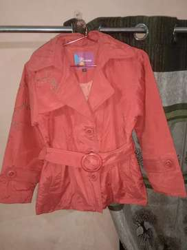 Jacket for kids (orange color)