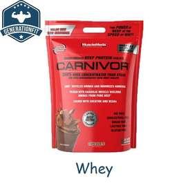 musclemeds carnivor 10lbs whey protein Surabaya