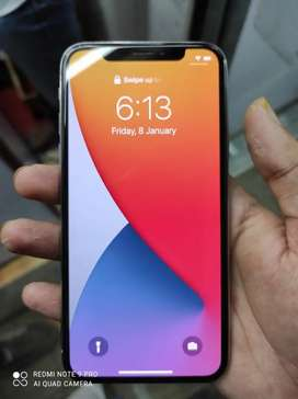 Brand new Iphone X 3 months lite used piece