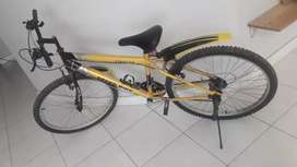 Imported mountain bike