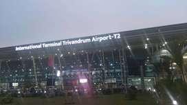 10+12 Pass Jobs Trivandrum International Airport