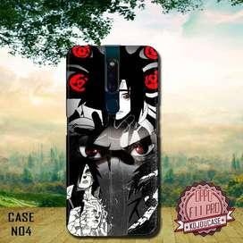Custom case 3D Oppo F11 Pro dll motif Naruto Shippuden