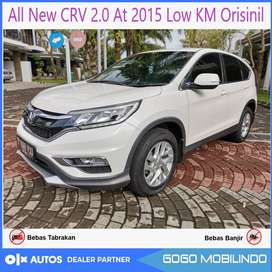 All New Crv 2.0 AT Facelift 2015 Low km full orisinil bs kredit