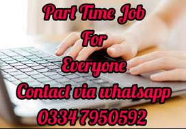Home based part time job for everyone. 1608