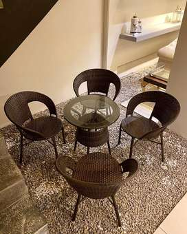 4+1 Chairs and table outdoor set