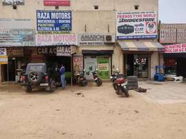 Shop for rent in main market