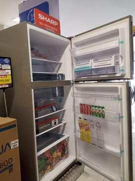 Sharp Big Freezer Kulkas 2 Pintu