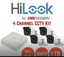 Kamera CCTV paket hemat, gratis setting dan pemasangan