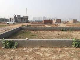 NOIDA EXTENSION NEAR ATS CHOWK & GAUR MULBERRY MANSIONS FORMS HOUSES..