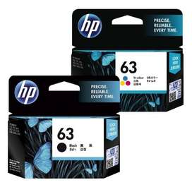 hp 63 black and color