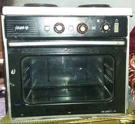 Electrical Oven with two Burners Imported.